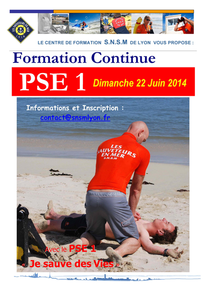 Formations Continues PSE1 / PSE2 | SNSM Lyon